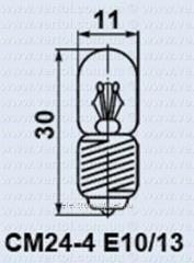 Лампа самолетная СМ 24-4