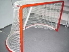 Goal nets for hockey