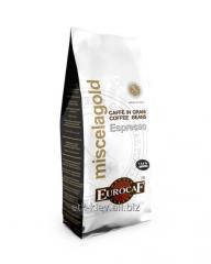 Кофе в зернах EUROCAF «GOLD 100% Arabica»