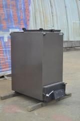 Шахтный котел Холмова ЛЮКС - 12 кВт. Длительного горения!