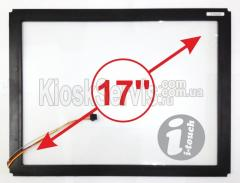 "Сенсорная панель LED «i-Touch» 6 мм 17"" 4:3 в"