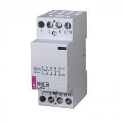 Модульный контактор/тихоходное реле