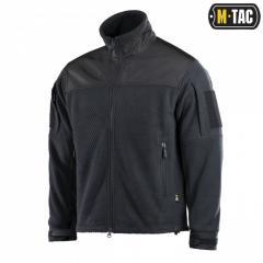 M-Tac Куртка Hexagon Alpha Microfleece Jacket черная