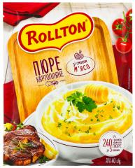 Роллтон пюре картопляне зі смаком м'яса 37г