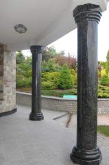 I will sell Rail-posts, columns, a socle from