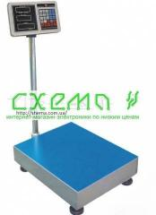 Scales electronic 100 kg + the panel for