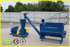Granulator feed 380 V, 11 kW. Auger and accurate