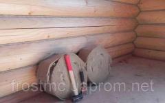 Межвенцовый утеплитель ленточная пакля для сруба