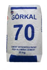 Cement high-aluminous GORKAL-70, heat-resistant,