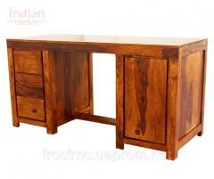 Колоніальний дерев'яний письмовий стіл ZEN