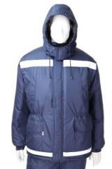 """Куртка 3003 """"Инженер"""" темно-синяя с манжетами (04003)"""