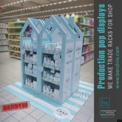 Annonsförsäljningen ställningar hygien DOVE