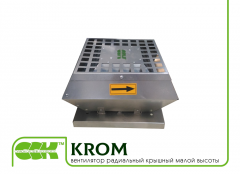 Roof fan KROM-4-0,375 groove of small height