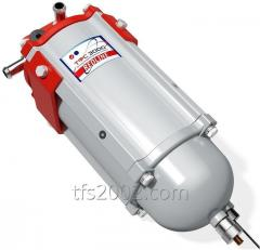 Complete separation of diesel fuel and...