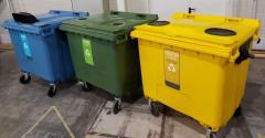 Пластиковий євроконтейнер для роздільного...