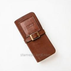 STRYI Leather Case for Storage of knives set...
