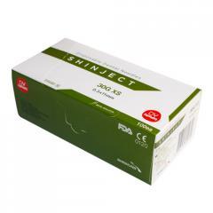 Игла стоматологическая SHINJECT 30G XS (0.3x11мм),