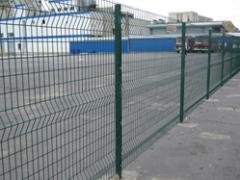 Fence in PVH a covering