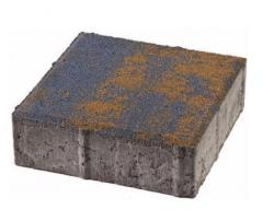 Тротуарная плитка  Квадрат колормикс