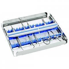 Кассета EASY CLIP 15 для 15 стоматологических инструментов, 182912.2 Nichrominox