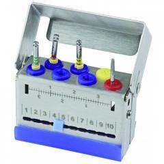 Эндодонтический бокс ENDO STAR на 7 стоматологических инструментов, 182160 Nichrominox