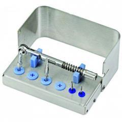 Подставка для имплантов N1 для 6 инструментов и 1 динамометрического ключа, 500401 Nichrominox