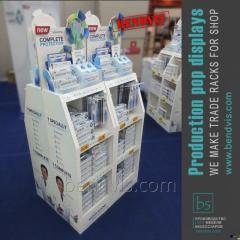 Annonsförsäljningen ställningar Sensodyne hygien