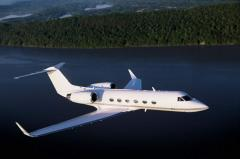 Чартерные рейсы в Киеве Gulfstream 450