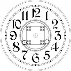 Циферблаты из алюминия для часов