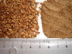 Дробленая скорлупа грецкого ореха