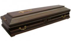 Гробы: деревянный гроб, цинковый гроб, гроб обитый