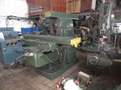 The milling machine 6R83G (Under the order)