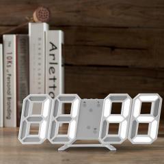 Креативные 3D светодиодные часы с креплением на