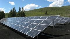 Solar power station 30 kW.