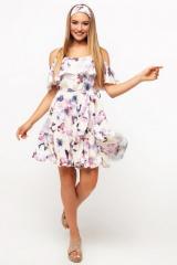 Dress 01-27 - cream flowers diz 008 color 3