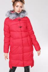 Becky's Down Jacket-Blanket 2 - Scarlet No.