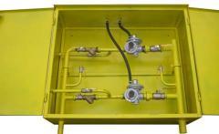 ШРП с регуляторами давления газа FEX, RBI 2600, 3200, FRG/2MB (2 линии)