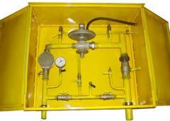 ШРП с регуляторами давления газа FEX, RBI 2600, 3200, FRG/2MB