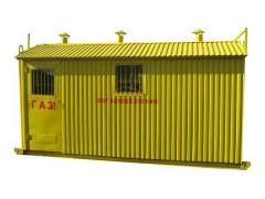 ШРПБ с регуляторами давления газа РДГ-80Н (В), RBЕ 4000 и счетчиками газа GMS, ЛГ-К, ТЕМП, Курс-01, Delta, TZ / Fluxi