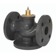 Клапан регулирующий трехходовой с электроприводом Danfoss VL3