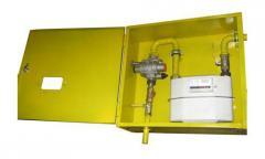 ШРП с регуляторами давления газа KHS, РТГБ, КРТГ, MS, FE, M2R, RBI, B, RSS, DSR, FRG/2MBC и счетчиками газа G6 ВКТ