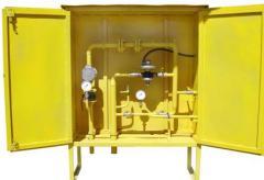 ШРП с регуляторами давления газа RBI 2000, 3200 и счетчиками газа GMS, РГС, Delta, ТЕМП
