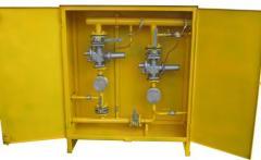 ШРП с регуляторами давления газа РДСК (Сигнал) (боковое присоединение)