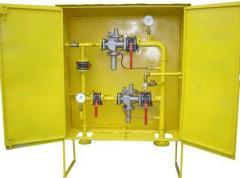 ШРП с регуляторами давления газа РДСК (Сигнал) (нижнее присоединение)