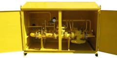 ШРП с регуляторами давления газа РДУК-2-100Н (В), РДБК1-100Н (В)