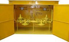 ШРП с регуляторами давления газа РДУК-2-50Н (В), РДБК1-50Н (В)