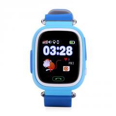 Оригинальные детские смарт часы с GPS WONLEX GW100 (Q90) цвет синий