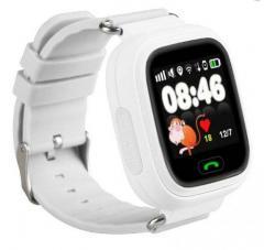 Оригинальные детские смарт часы с GPS WONLEX GW100 (Q90) цвет белый