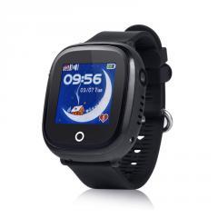 Оригинальные детские смарт часы с GPS WONLEX GW400x цвет черный