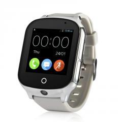 Оригинальные детские смарт часы с GPS WONLEX GW1000s (T100) цвет белый
